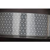 Silver Reflective Tape - 5 x 20cm strips (1 metre total length)