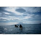 Volcano coast of Kamchatka