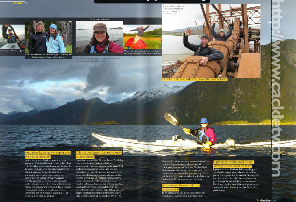 Paddler Ezine article