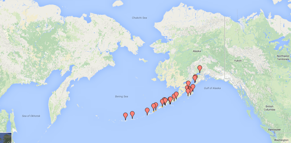Aleutian islands_with_pins