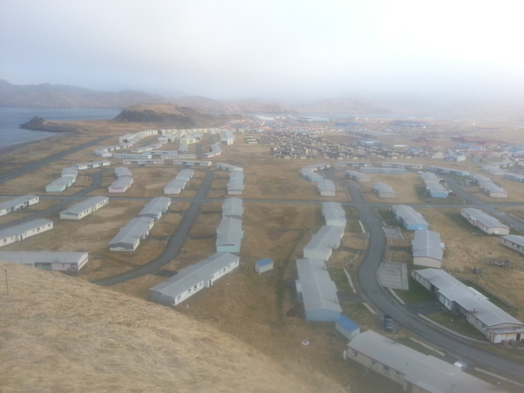 Adak from the water tower