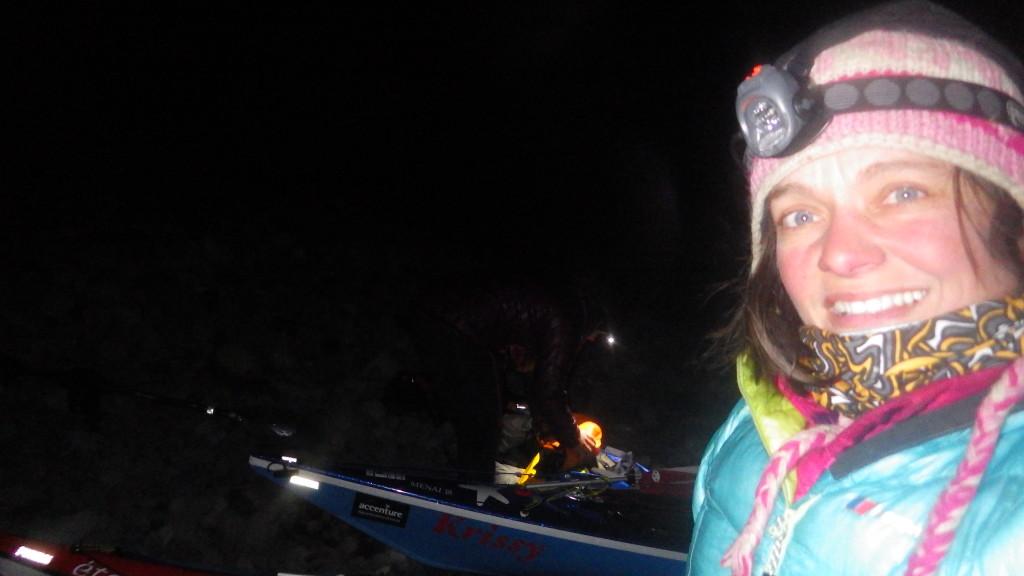 Landing in the dark at Amukta