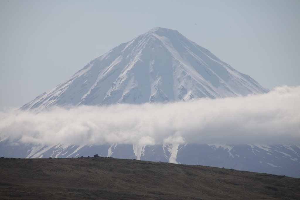 Amazing volcanoes along the Aleutian Chain. This is Carlisle island