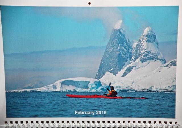Paddling in Antarctica