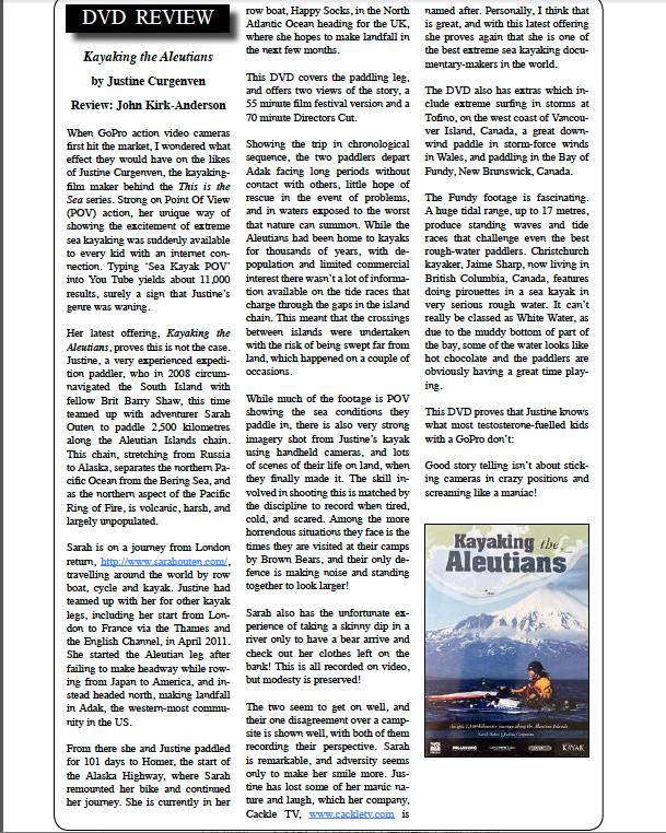 Aleutians Review KASK