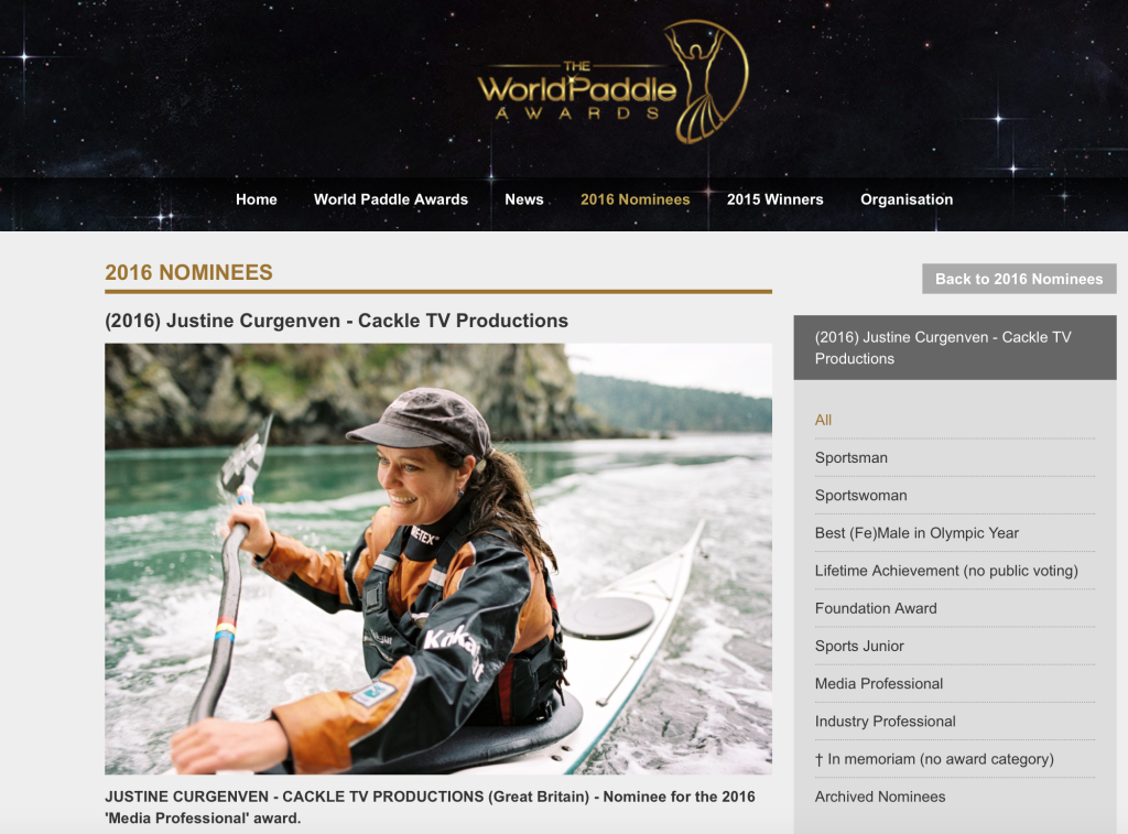 World Media Awards Nomination